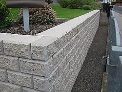 Aussenanlagen erd und tiefbauarbeiten baugesch ft lesser zella mehlis - Gartenmauer fertigteile ...